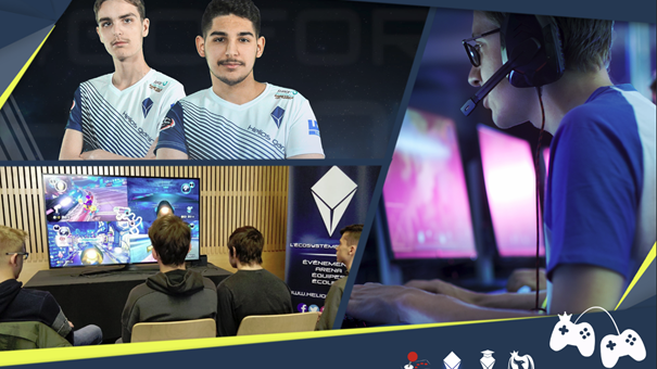 Last news – February 25th : We're coming on Fortnite, competition production and Esports school open days !