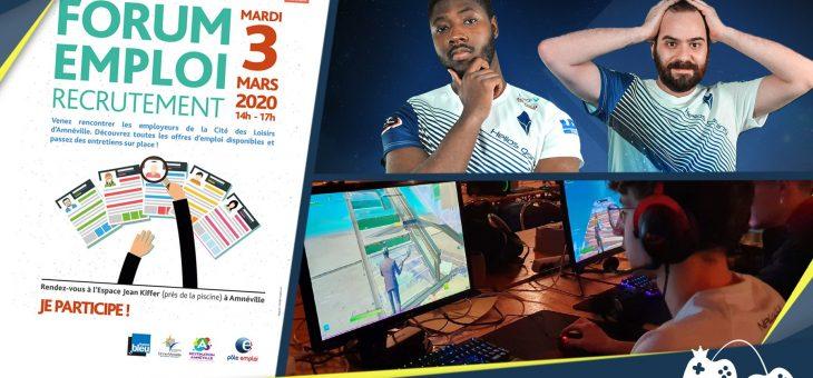 Actualités – 2 mars : Compétitions esports et forum de l'emploi