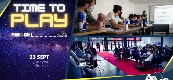 Actualités – 21 septembre : Helios Gaming School partenaire du Red Bull Basement