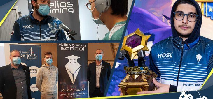 Actualités – 8 février : Nouvelle école Helios Gaming School